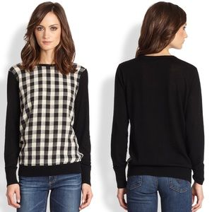 EQUIPMENT Roland Buffalo Plaid Sweater